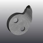 Зуб HEX-D1-L-00695 3
