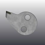 Зуб CARLTON HEX-D1-N-L-00695 4